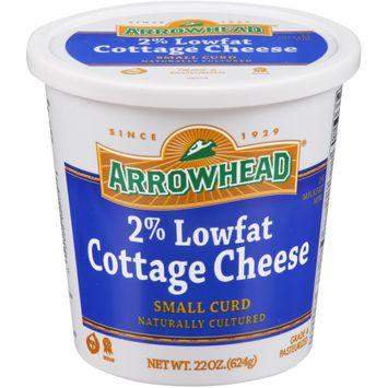 Arrowhead® 2% Lowfat Small Curd Cottage Cheese