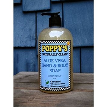 Poppy's Naturally Clean Aloe Vera Hand & Body Soap