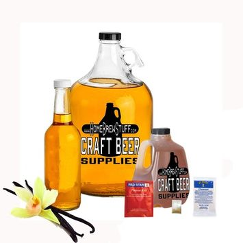 Vanilla Mead Making Refill Kit 3 Lbs Honey Homebrew Recipe Yeast and Cleanser