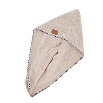 Homyl Absorbent Anti-Frizz Microfiber Hair Wrap Drying Twist Dryer Towel Bath Spa Makeup Head Cap - White/Coffe/Gray/Pink - Gray
