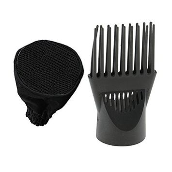 Homyl 2 Pieces Universal Hair Dryer Sock Diffuser Wind Blower Attachment Cover Canvas + Plastic FASTING DRYING FRIZZ FREE