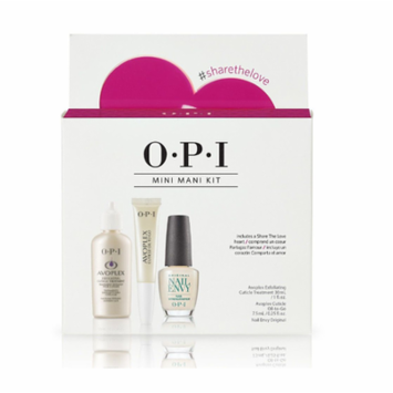 OPI Love Your Nails - Nail Envy Original + Avoplex Cuticle Oil To Go + Exfoliating Cuticle Remover 3ct/pk