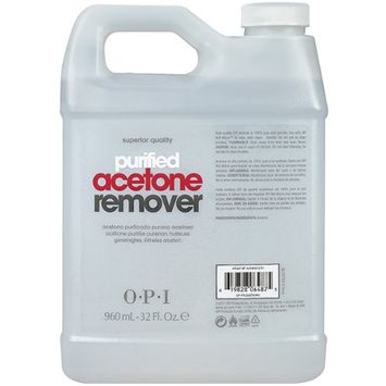 Opi Purified Acetone Nail Polish Remover