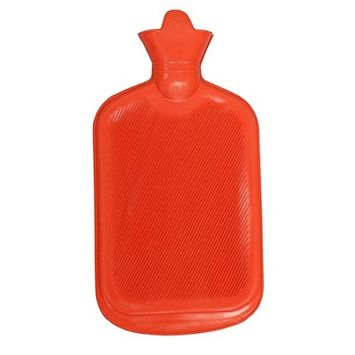 BodyHealt Premium Classic Rubber Hot Water Bottle - Helps for Pain Relief - Hot and Cold Therapy 2 Quarts or 64 Ounces