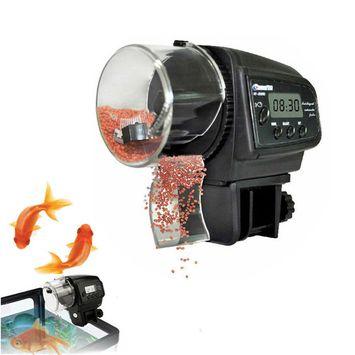 Ktaxon Adjustable Automatic Aquarium Timer Auto Fish Tank Pond Food Feeder Feeding