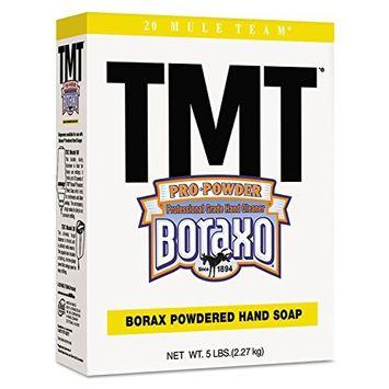 Boraxo - TMT Powdered Hand Soap, Unscented Powder, 5lb Box 02561EA (DMi EA
