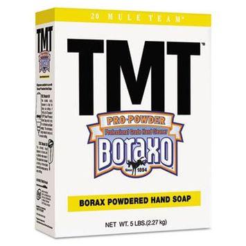 TMT Powdered Hand Soap, Unscented Powder, 5lb Box, 10/Carton, Sold as 1 Carton, 10 Each per Carton