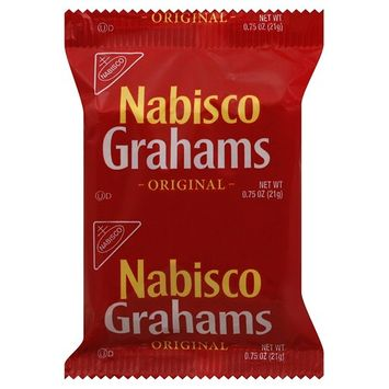 Nabisco Graham Crackers (3-Count), 0.73-Ounce Individually Wrapped Packages (Pack of 150)