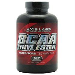 Axis Labs - BCAA Ethyl Ester - 180 Capsules
