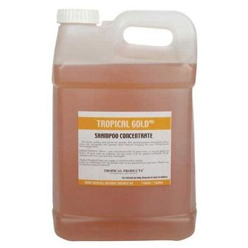 Tropical Gold Dog and Cat Shampoo, 2.5-Gallon