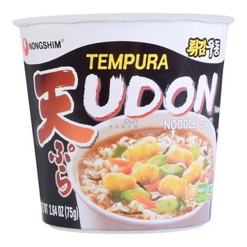 (Pack of 6) Nongshim Tempura Udon Cup Noodle Soup 2.64 OZ : Grocery & Gourmet Food