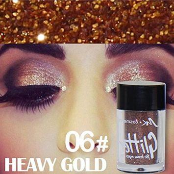 Creazy Glitter Powder Eyeshadow Makeup Waterproof Brighten Pigment Eye Shadow Cosmetic
