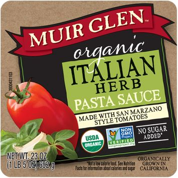 Muir Glen™ Organic Italian Herb Pasta Sauce Made with San Marzano Style Tomatoes