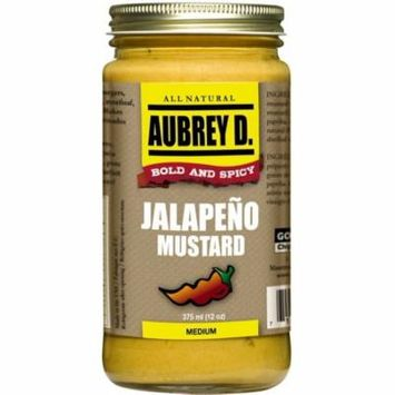 Classic Peppery Spiced Jalapeno Mustard Seasoning by Aubrey D; Cook, Dip or lick for the Meanest Mustard Flavor with a Hot Kick!