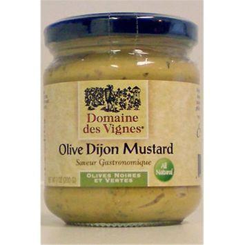 Domaine des Vignes 52003 7 oz. Olive Dijon Mustard Pack of 6