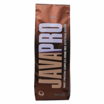 JAVAPRO Whey Protein Complex Drink Mix with Real Coffee, Latte, 1.5 lbs