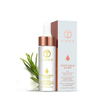CYCTECH Rose Essential Oil Make Up Moisturizing Easy Absorbed Face Oil Perfect for Aromatherapy Relaxation Skin Therapy 15ML