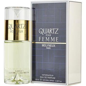 QUARTZ by Molyneux EAU DE PARFUM SPRAY 3.3 OZ for WOMEN ---(Package Of 6)