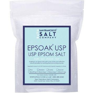 Epsoak Epsom Salt (3.5lb Canister) USP Magnesium Sulfate