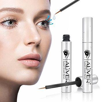 AL'IVER Eyelash Growth Serum,Eyebrow Growth Serum,Premium Eyelash Enhancer Gives You Longer Fuller Thicker Looking Eyelashes & Eyebrows 100%(5ML)