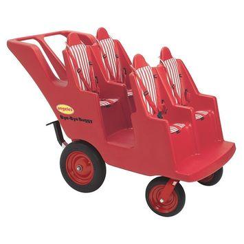 Angeles 4 Passenger Original Slim Tire Bye-Bye Baby Stroller Buggy