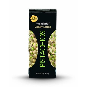 Wonderful Pistachios, Roasted and Lightly Salted, 16 Ounce