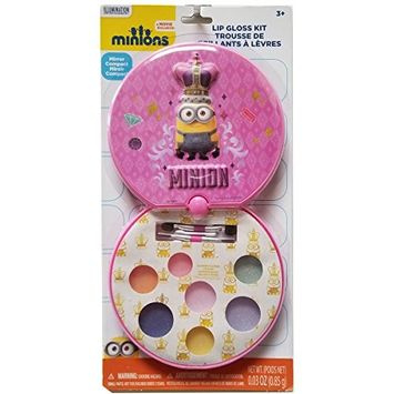 Despicable Me Townley Girl 3 Super Sparkly Lip Gloss Compact for Girls