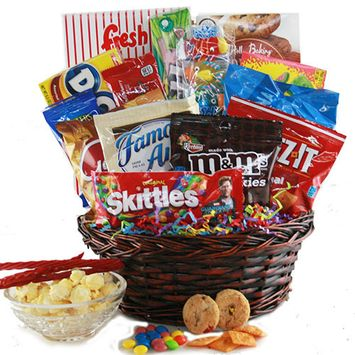Design It Yourself Gifts & Baskets Candy Caravan Candy Gift Basket
