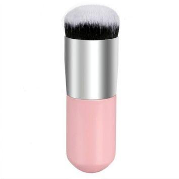 A Brush Three Use,Easy to Carry ,Powder Brush/ Foundation Brush/ Blush Brush