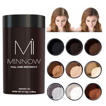 Hair Fiber Powder, Calidaka Hair Building Fibers Hide Thinning Hair Loss Conceal Powder(Gray)