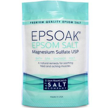 Epsoak Epsom Salt 2 lbs. USP Magnesium Sulfate [Unscented - 2 lb. Bag]
