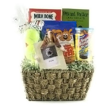 Bark Buster-Dog Gift Basket