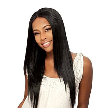 DLOnline Long Straight Hair Wigs,Women's Wig Long,Straight Heat Resistant Hair,Long Wigs for Black Women,Black color Full Wig,Sexy Women New Cosplay Party