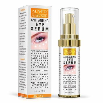 Anti Ageing Eye Serum - Reduces Wrinkles, Bags, Saggy Skin & Puffy Eyes, Organic Anti Wrinkle Eye Cream for Day and Night Moisturizing, Suitable for All Skin Types