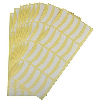 Polytree 100 Pairs Eyelash False Lashes Individual Extensions Sticker Professional Tools Tape Pad