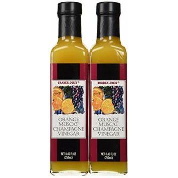 Trader Joe's Gourmet Orange Muscat Champagne Vinegar (Pack Of 2)