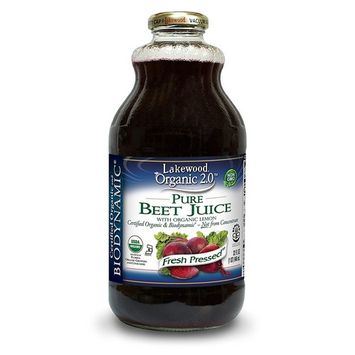 Lakewood Organic Biodynamic Beet, 32 Ounce (Pack of 6)