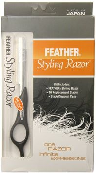 Feather Detail Razor with Standart Kit