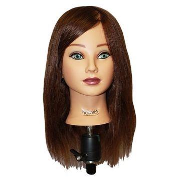 HAIRART 100% Human Hair Mia Deluxe18 Inch Mannequin 4835