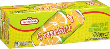 springfield® grapefruit soda 1