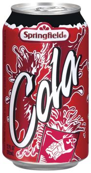 Springfield Cola Soft Drink
