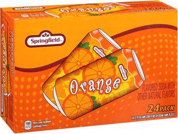 springfield® orange soda 2