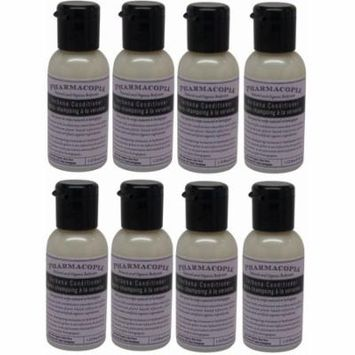 Pharmacopia Verbena Conditioner lot of 8 each 1.1oz bottles.Total of 8.8oz
