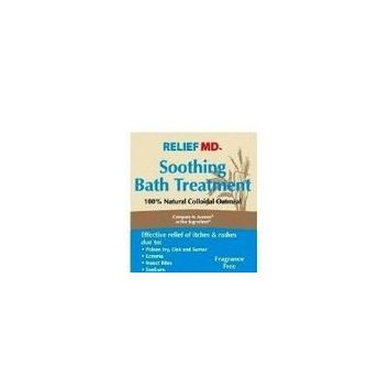 Relief MD Soothing Colloidal Oatmeal Bath Treatment - 6 Single Use Packets by Blue Cross Labs