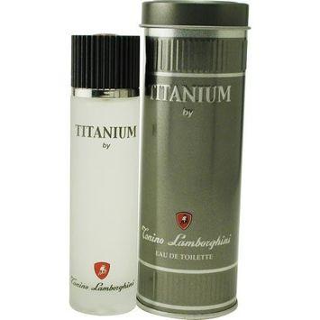 Lamborghini Titanium By Tonino Lamborghini For Men. Eau De Toilette Spray 3.4 Oz.