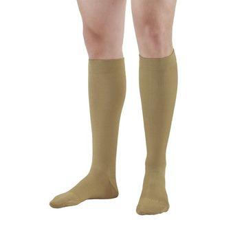 Ames Walker Unisex AW Style 111 Cotton Over-the-Calf Compression Trouser Socks - 20-30 mmHg Cotton/Nylon/Spandex 111-P