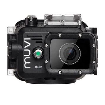 Veho Muvi K2 Wireless HD Camera with Wi-Fi 1080p 60fps 100m Waterproof Case