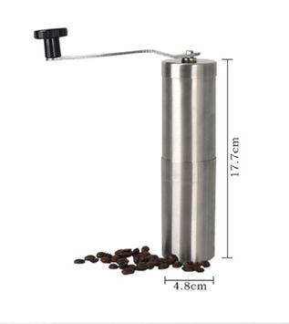Kuke coffee grinders burr, Portable Washable Manual Coffee Grinder, Stainless Steel Coffee Grinder, perfect coffee grind, Adjustable coffee grinder
