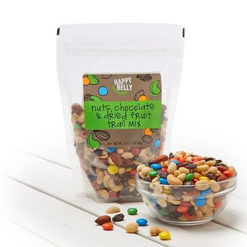 Amazon Brand - Happy Belly Nuts, Chocolate & Dried Fruit Trail Mix, 16 ounce (Pack of 2)
