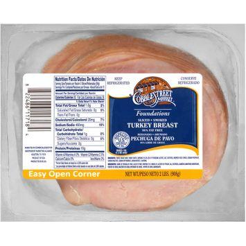 Cobblestreet Market® Foundations Sliced Smoked Turkey Breast